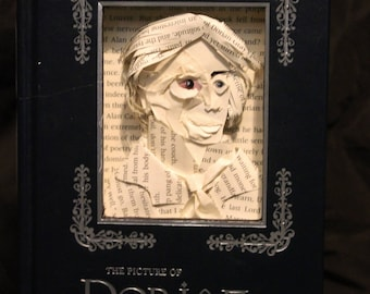 The Picture of Dorian Gray Book Sculpture