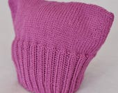 Pussyhat Pink Pussyhat! Women's March P_ssyhat Magenta Pussycat Hat Donation to Planned Parenthood