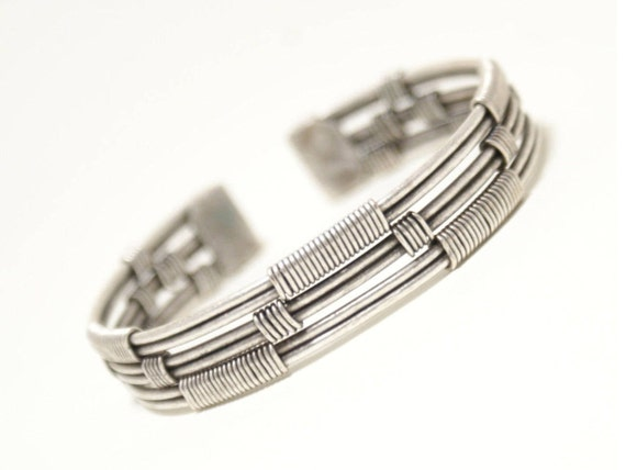 Mens bracelet mens cuff bracelet silver mens jewelry like this item publicscrutiny Image collections