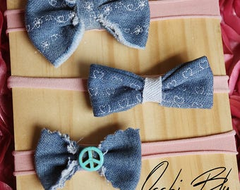 Denim Bow Collection