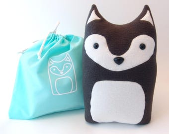 Plush Craft Animal Friends Pillow Kit : Fox Woodland Forest Plush Stuffed Animal Pillow Oliver