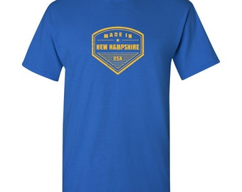 Made in New Hampshire T Shirt - Royal