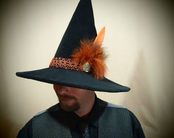 """Witch Hat """"Lewis"""" One of a Kind"""