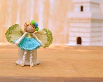 Miniature Fairy Doll - miniature fairies, waldorf fairy doll, waldorf fairies, mini fairy doll, mini fairies, small fairy doll, pixie doll