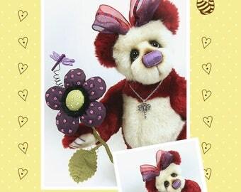 Tiggy Artist Bear Pattern