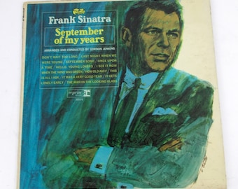 Frank Sinatra September of My Years Vinyl LP Record Album F 1014