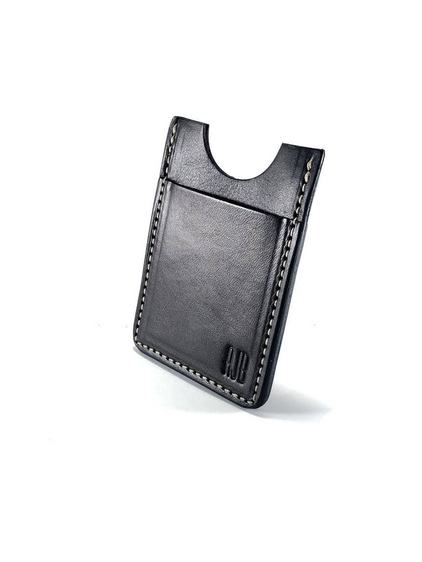 Bridle leather card wallet business card holder leather billfold bridle leather card wallet business card holder leather billfold wallet peronsalized wallet front pocket wallet moneyclip wallet colourmoves Image collections