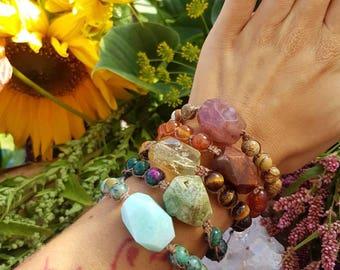 Chakra Love - OOAK chakra bracelets