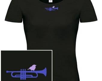 WOMAN T-shirt Trumpet