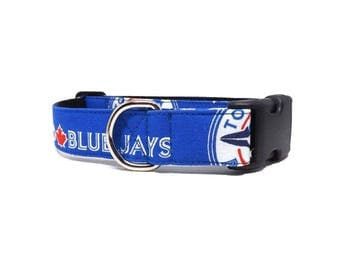 "Blue Jays Dog Collar | Available in 1"" and 1.5"" widths 