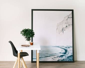 large murals contemporary prints vintage art by anewalldecor