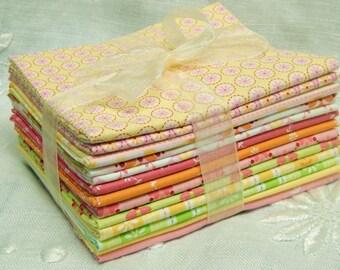 Lecien Quilt Fabric - Sweet Broderie Series - 12+ Fat Quarter Bundle