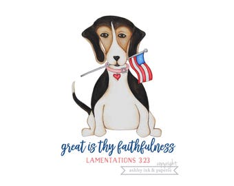 Notecard or Print ~ Great is Thy Faithfulness