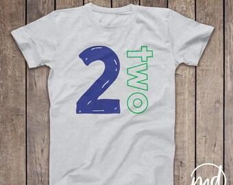 2 Year Old Boy Shirt, Second Birthday Shirt Boy, 2nd Birthday Shirt Boy, Boys 2nd Birthday Shirts, 2 Birthday Shirt Boy, I'm 2, I'm Two