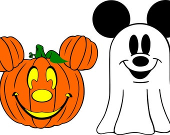 Mickey Mouse Halloween Time SVG Files