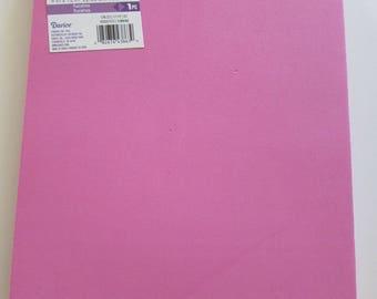 10 Sheets of Foam 9x12 - Fuschia - Ideal for foam crafts, fofuchas and more