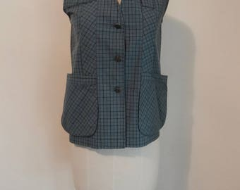 50's  60's Vest Abercrombie & Fitch Vest Hiking Hunting Fishing Vest Outerwear