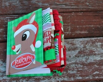 Rudolph the Red Nosed Reindeer Altered Journal
