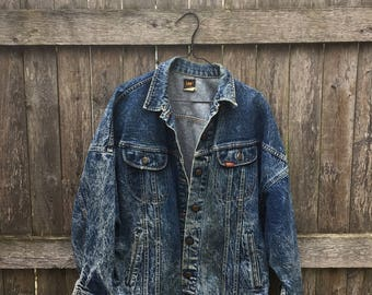 Lee Acid Wash Denim Jacket