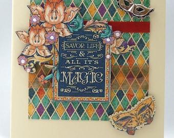 Handmade Card - Carnival Time