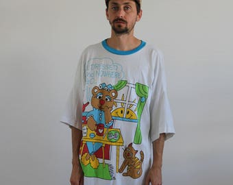 All dressed up and no where to go Night Tee Shirt XL