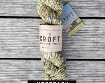 Mossbank - The Croft Shetland Tweed - West Yorkshire Spinners - Aran