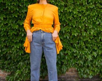 vintage 1990s jeans / 90s high rise Levi's 551 / medium - large /