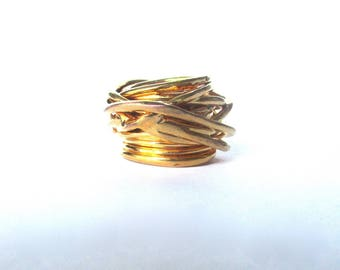 Vintage Gold-Plated Ring