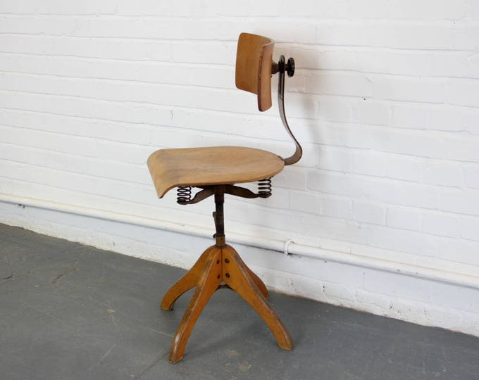 German Draftsman's Chair By Polstergleich Circa 1930s
