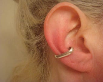 Silver Ear Cuff - Ear Cuff - Non Pierce Ear Cuff - Ear Wrap - No Pierce Earring - Ear Cuff - Minimalist Jewelry