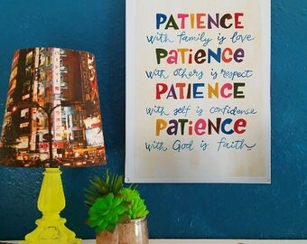 Patience - Artist Print
