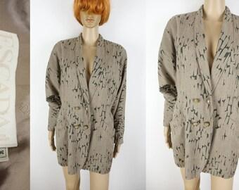 ESCADA Margaretha Ley Jacket Double Breasted Batwing Blazer Size 36