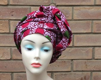 African Headwraps, Headtie, African Clothing, Women's Accessories, Women's