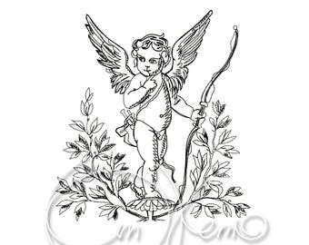 MACHINE EMBROIDERY DESIGN - Angel