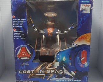 Lost in Space Movie Battle Ravaged Robot Action Figure - New in Package