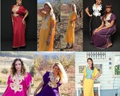 40 OFF Summer SALE Kaftan dress Bohemian dress Caftan maxi dress Long dress Abaya Cotton caftan Coverup Moroccan kaftan Maternity d
