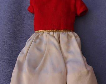 Vintage (Barbie) Skipper Silk 'N Fancy Dress, EXC