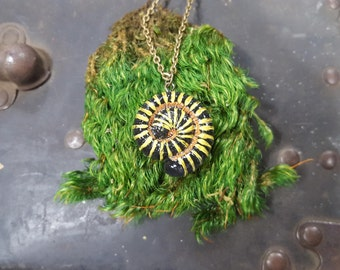 Bumblebee Millipede Necklace