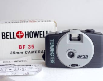 Bell & Howell BF 35 35mm Point and Shoot Camera - Original Box