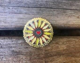 Grateful Dead Inspired Hat Pin - Lazy Lightning
