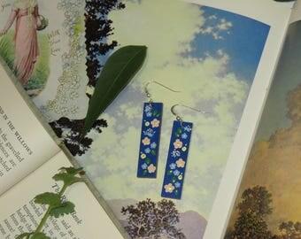 Sara Crewe Handpainted Earrings
