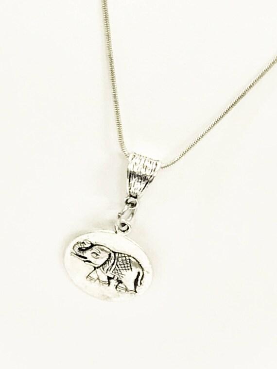 Elephant Jewelry, Elephant Necklace, Good Luck Jewelry, Elephant Gifts, Good Luck Necklace, Good Luck Gifts, Power Necklace, Power Gifts