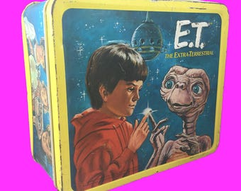 1982 E.T. The Extra-Terrestrial lunch box