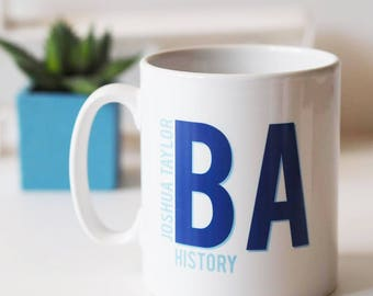 Personalised Graduation Mug Gift - Graduate Keepsake Mug - Gift for Graduation - Personalised Mug - Graduation Gift