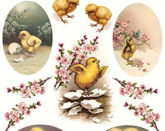Rice paper for Easter - Decoupage Rice Paper #R308