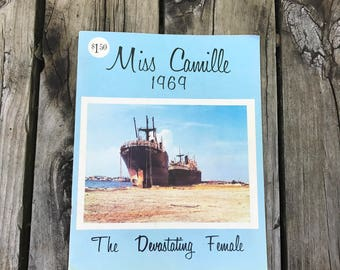 1969 Hurricane Camille publication Miss Camille, The Devestating Female MS Gulf Coast