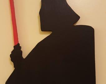Darth Vader Wall Art Handmade