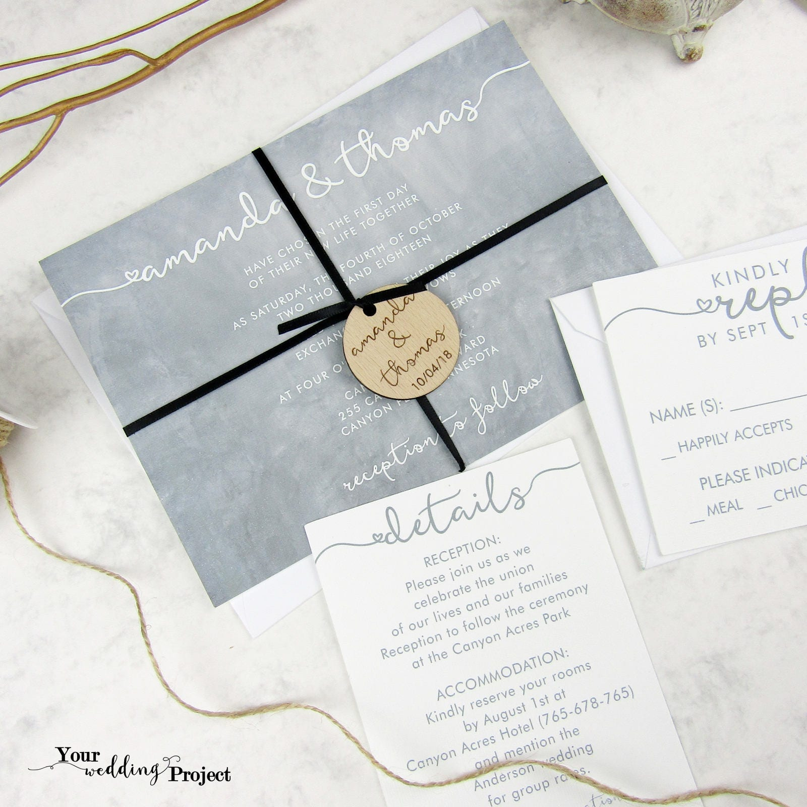 Invitations & Announcements , Paper , Paper & Party Supplies