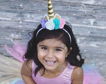 unicorn headband baby girl unicorn headband unicorn crown unicorn bow unicorn hair bow unicorn clip unicorn photo prop newborn toddler