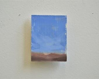 UTOPIA 4 / Original Oil Painting / Refrigerator Magnet